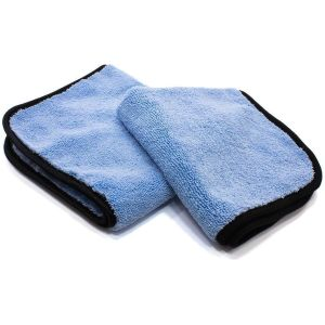 GreenZ Blue 530 gsm Plush Microfiber Towel