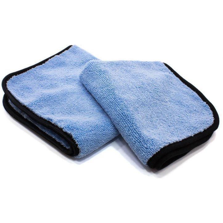 GreenZ Blue 530 gsm Plush Microfiber Towel