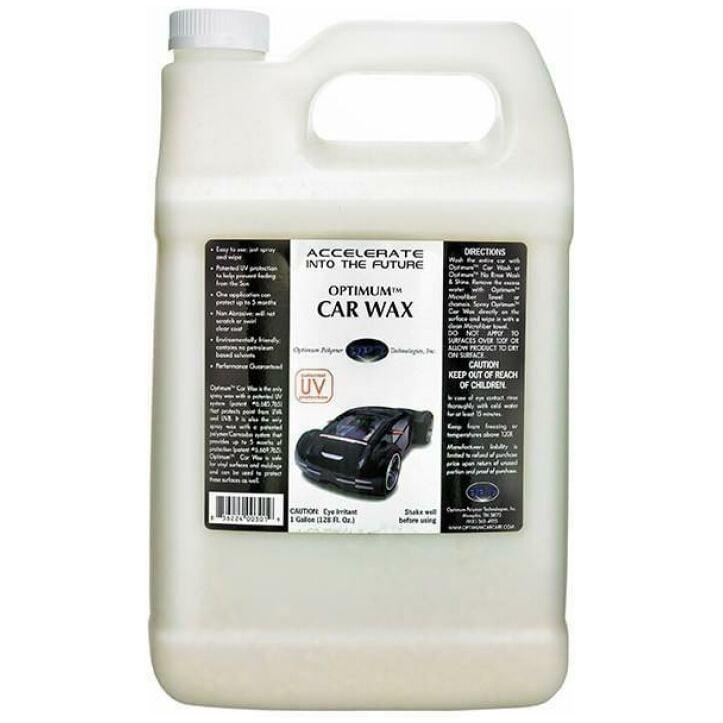 128 oz. Optimum Car Wax