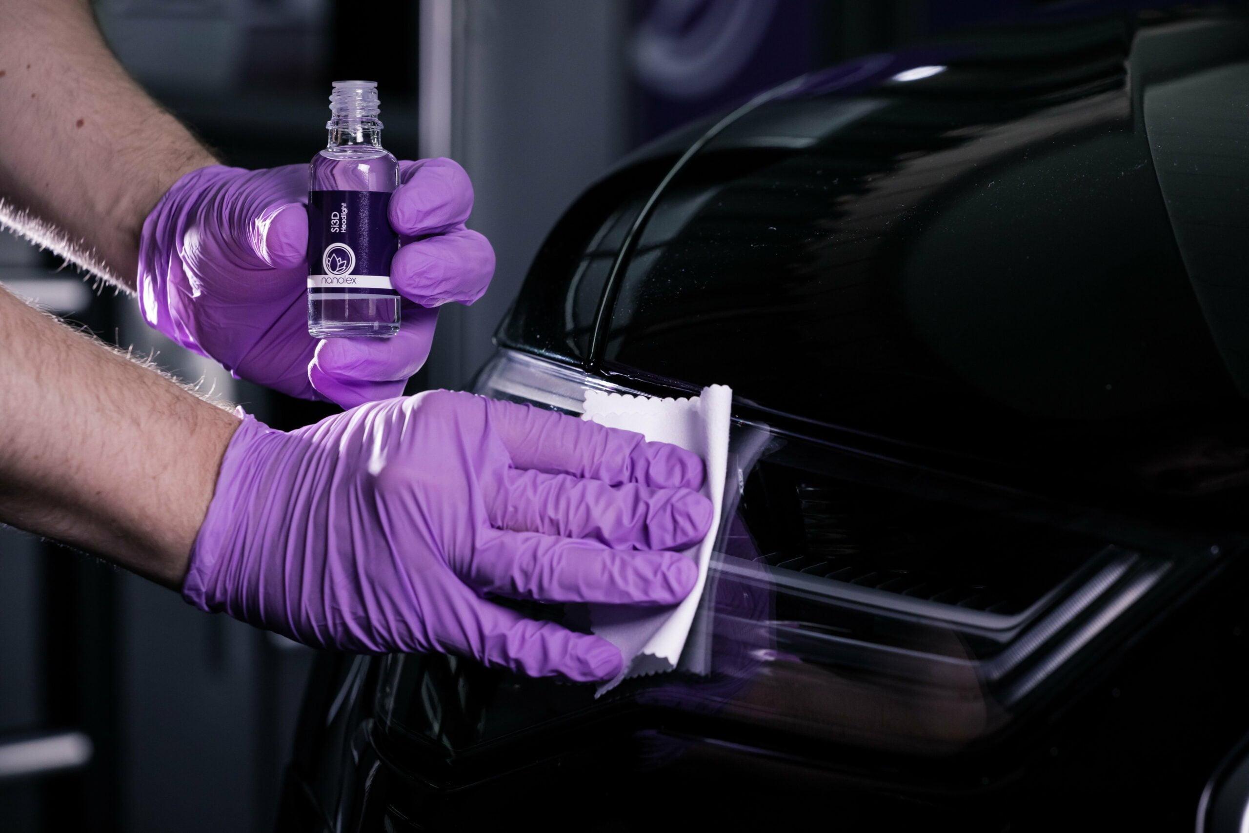 Nanolex Si3D Headlight & Trim Application