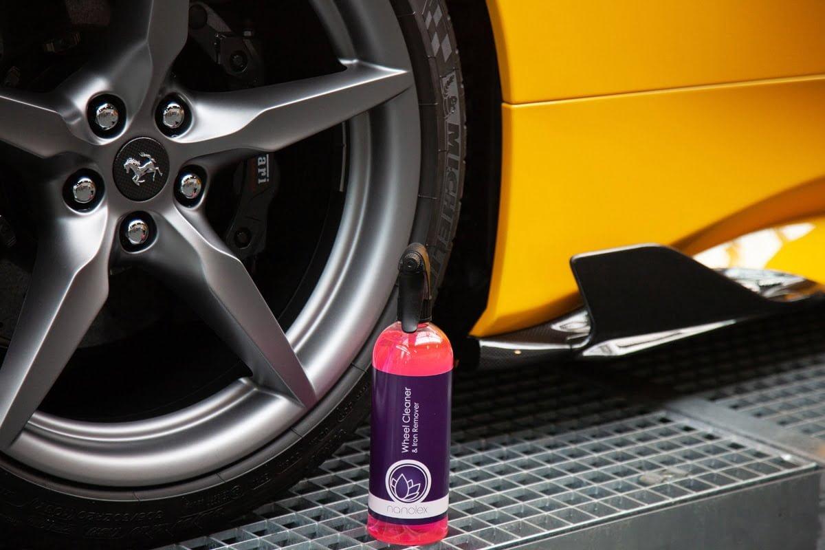 Nanolex Wheel Cleaner & Iron Remover Application 3
