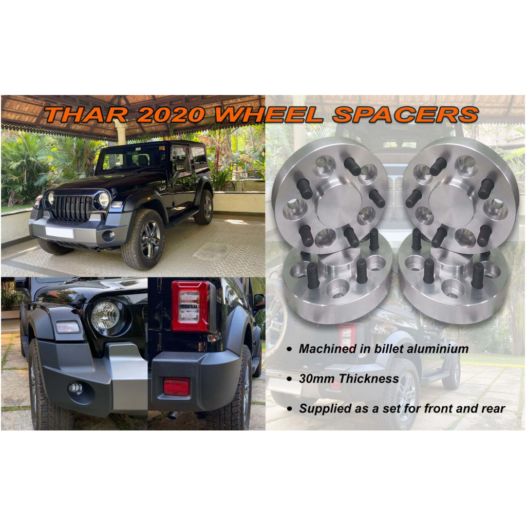 Mahindra Thar 2020 Wheel Spacers Car