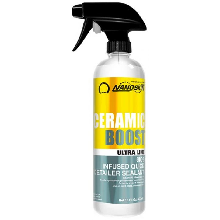 NANOSKIN CERAMIC BOOST SiO2 Infused Quick Detailer Sealant