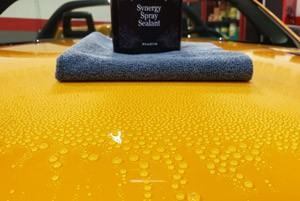 Pinnacle Black Label Synergy Spray Sealant Application 4
