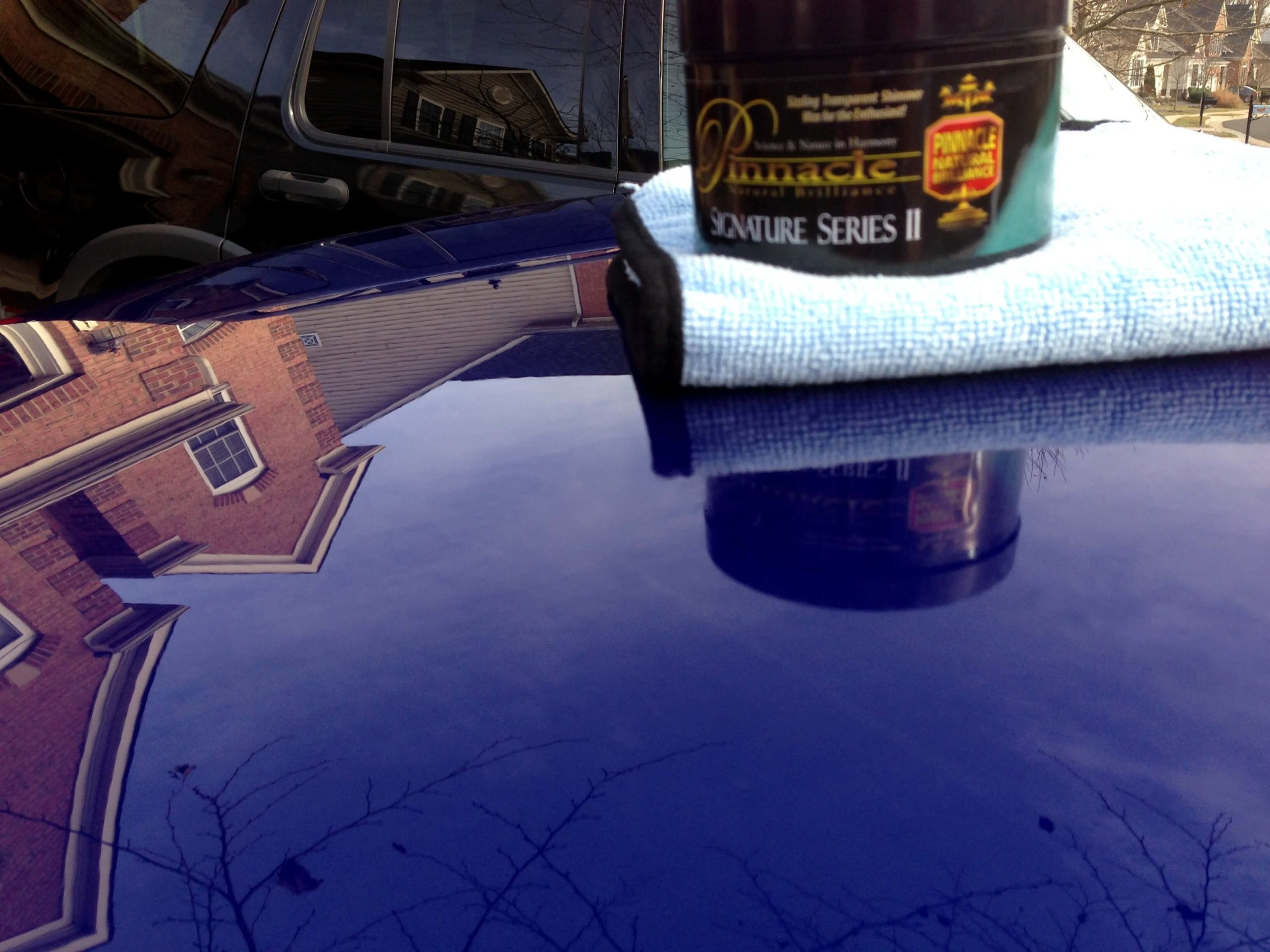 Pinnacle Signature Series II Carnauba Paste Wax Result