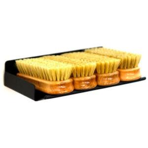 Poka Premium Shelf for leather and upholstery brushes