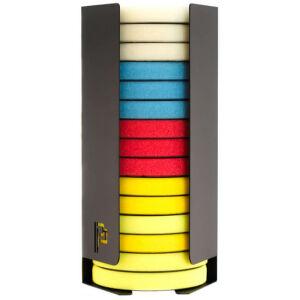 Poka Premium pad feeder for storing large polishing pads