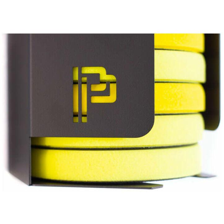 Poka Premium pad feeder for storing polishing pads close-up