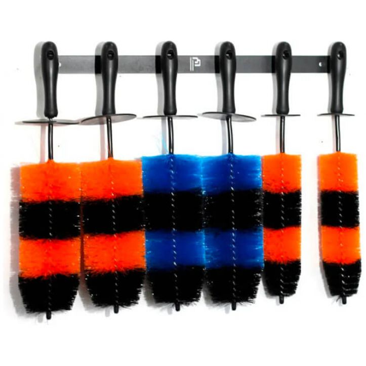 Poka Premium six brush holder Brushes