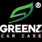 Greenz Car Care Logo Website White R