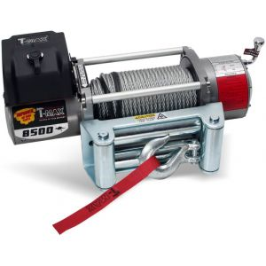 T-Max X-Power Series 8500LB 12V Electric Winch Spooled with Wire Rope