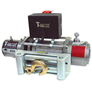 T-Max X-Power Series 9500LB 12V Electric Winch Spooled with Wire Rope